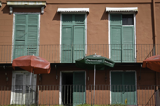 Doors and windows from New Orleans