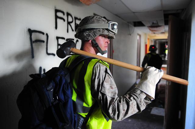 Marines CERT training