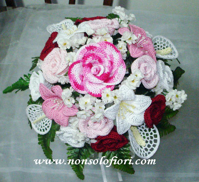Bouquet Sposa Uncinetto.Bouquet Sposa Uncinetto Bridal Bouquet Crochet Bouquet Sp Flickr
