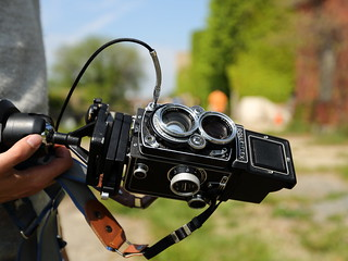 Rolleiflex TLR Camera at McMillan | by Mr.TinDC