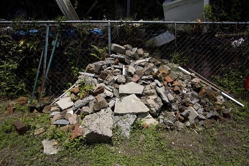rubble | by Derek Bridges