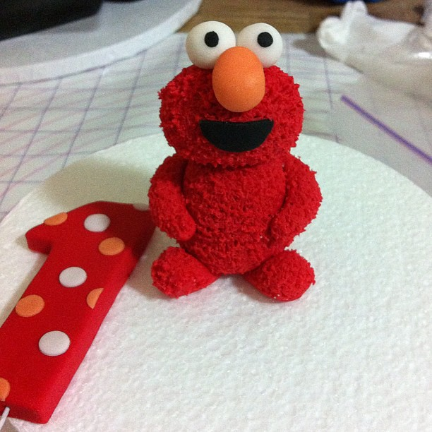 Baby Elmo Cake Topper Catherine Flickr