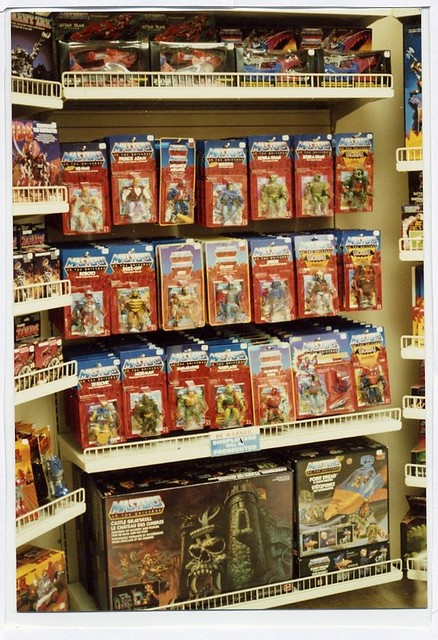 Toy Store old  vintage he-man Master of the universe