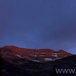 Sunrise in Martha's Basin (Mt. Pinchot)