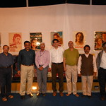 Exhibition at Y B Chawan Centre, Dr Rahul Joshi, Dr Prakash Joshi,B D More IPS,Jayesh Merchant CFO Asian Paints,Mahesh Dekate