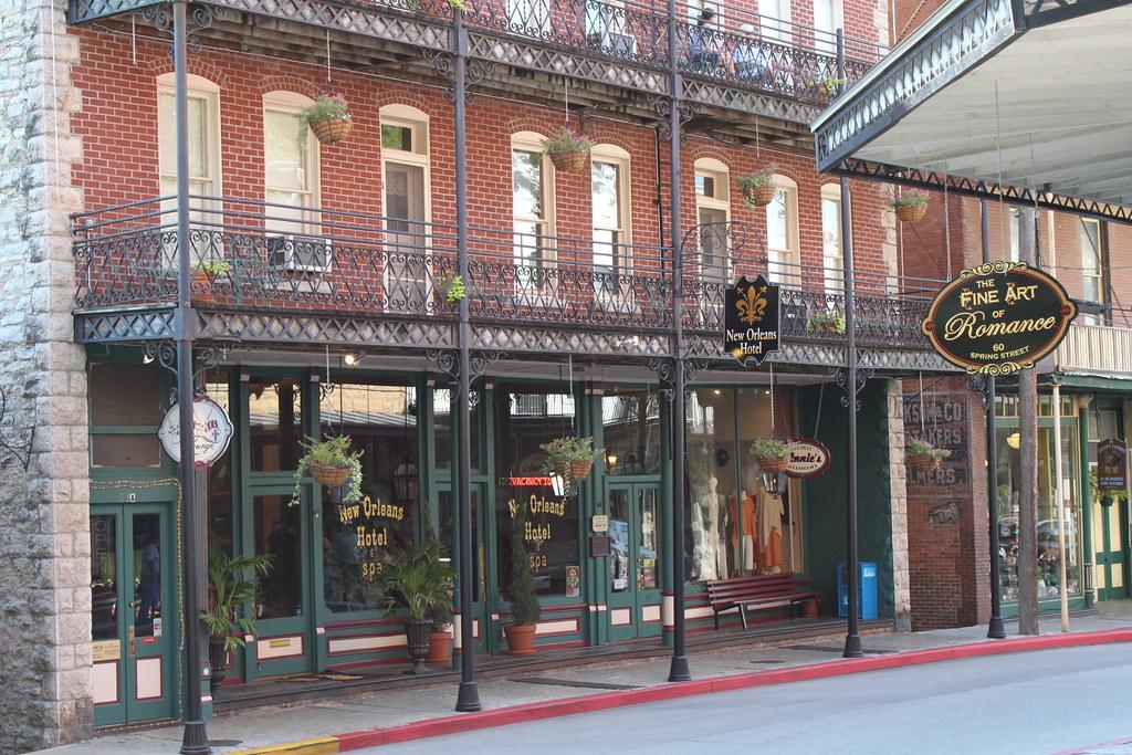 New Orleans Hotel Eureka Springs Arkansas Just Lovely S Flickr