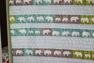 elephants on parade quilt | by anythingpretty