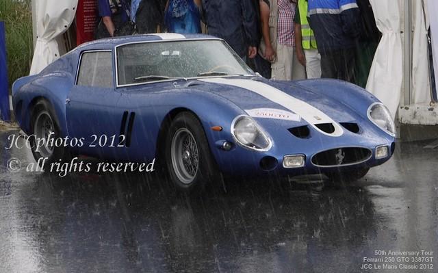 Ferrari 250 GTO 3387GT Le Mans Classic 2012