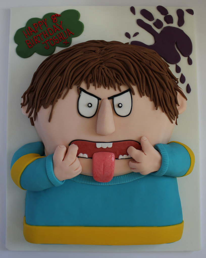 By Pauls Creative Cakes Horrid Henry Birthday Cake