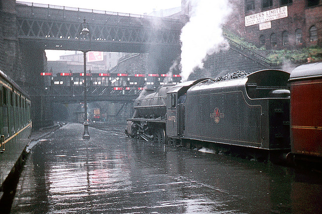 R0297.  44972 at Glasgow Queen Street. July, 1960.