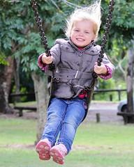Joy on the swing by benwebboz