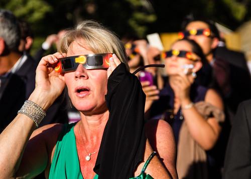 california ca wedding sun sunglasses canon eclipse watching may shades reception yosemite tamron viewing f28 partial 2012 ringoffire fishcamp tenayalodge 1750mm 60d tamronspaf1750mmf28xrdiiivcldasphericalif