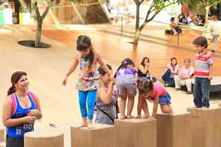 children playing   by Hanumann