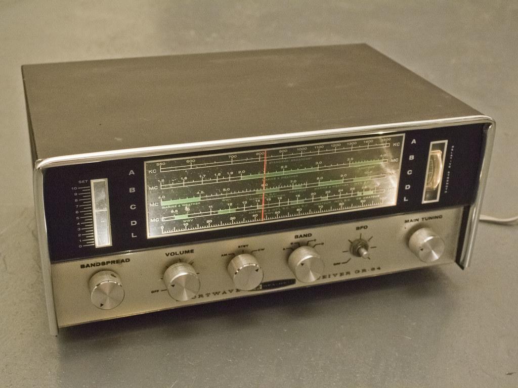 Heathkit GR-64 Shortwave Radio Reciever 02 | Micah McDowell