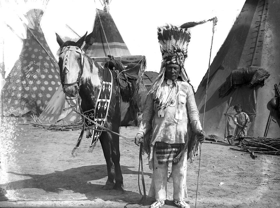 2012 Calgary Stampede Indian Village