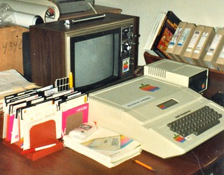 my first computer — the Apple ][ | by jurvetson