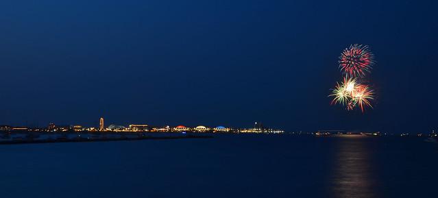 Navy Pier Fireworks 4