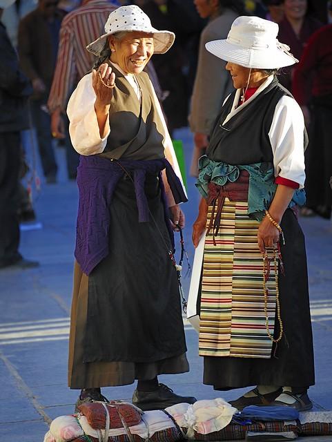 Barkor square, Lhasa, Tibet