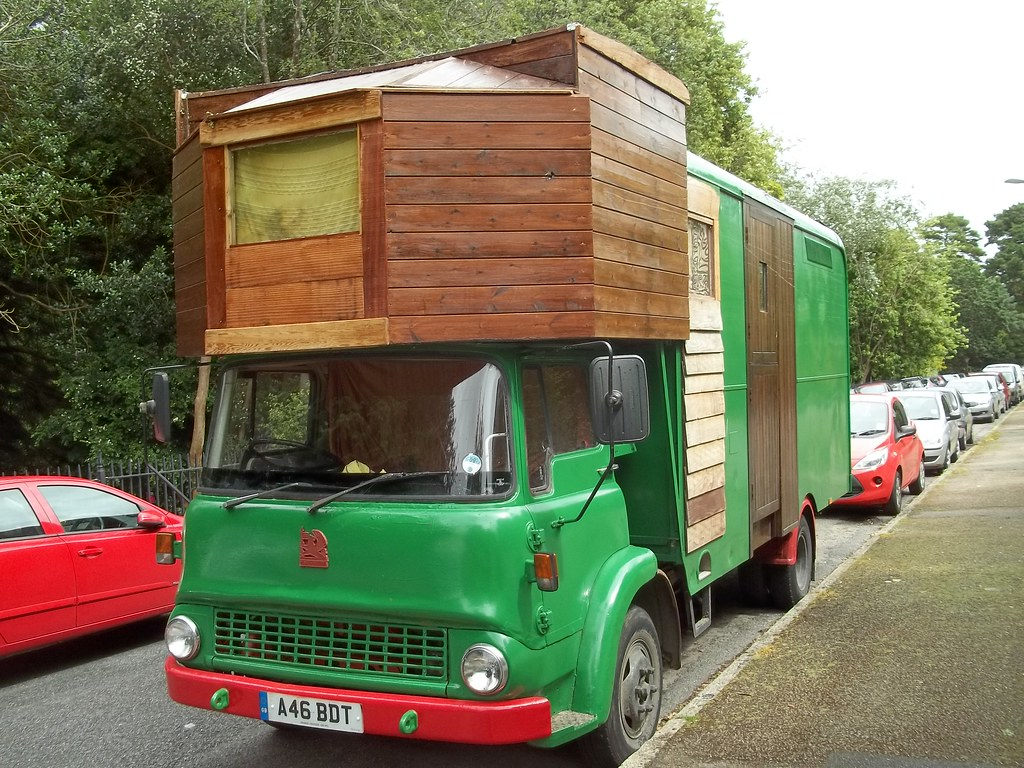Bedford TK Motorhome   Conversions like this are pretty rare