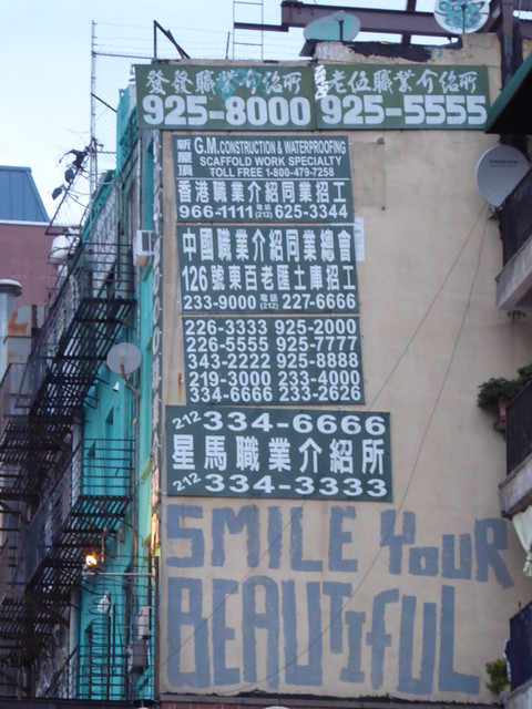 New York, Chinatown / Lower East Side