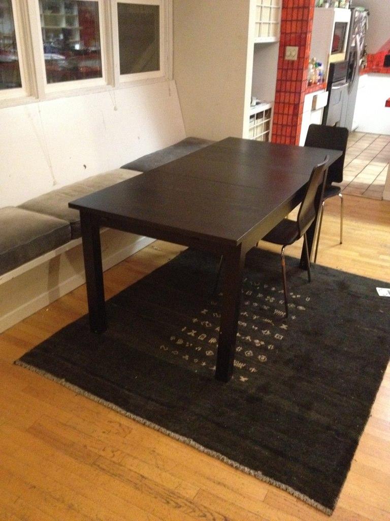 Ikea Bjursta Table 75 Length 70 7 8 Flickr
