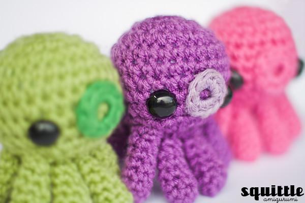 Baby Knitting Patterns Crochet pattern Octopus XXL OliMori ... | 400x600