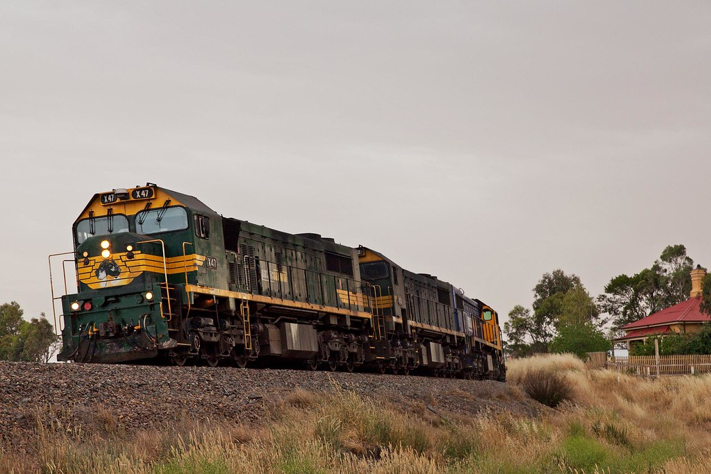 2126 Departing Bungendore by Trent