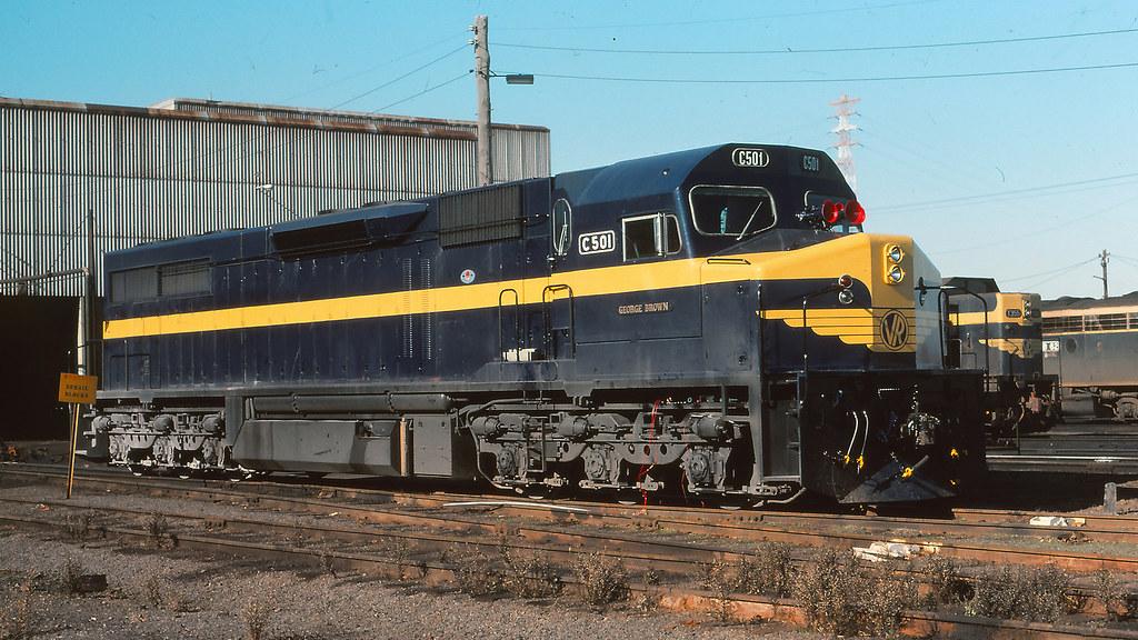 VR_BOX003S07 - C501 at South Dynon loco depot by michaelgreenhill