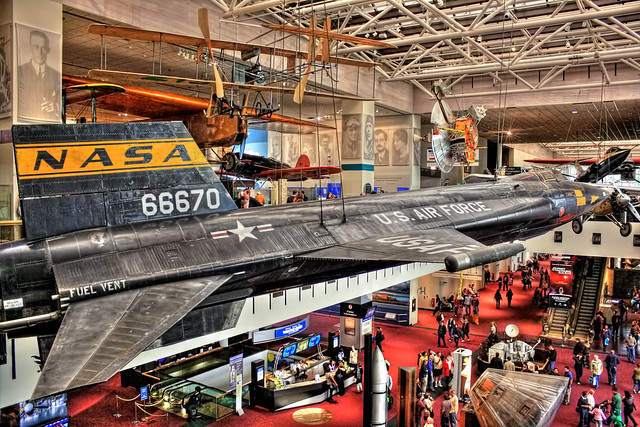 Washington D.C. - National Air and Space Museum - Milestones of Flight gallery