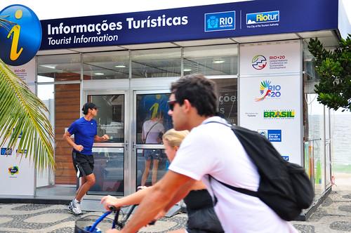 Informações Turísticas - Foto: Alexandre Macieira Riotur
