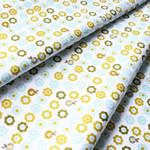 Anthology Fabrics(アンソロジー・ファブリックス)Flying Free PR506 フラワーアクア