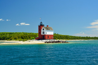 Round Island Lighthouse, MI | by hatchski