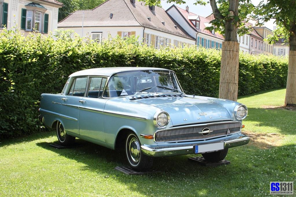 1959 1963 Opel Kapitan P 2 6 L The Opel Kapitan Was A Ca Flickr