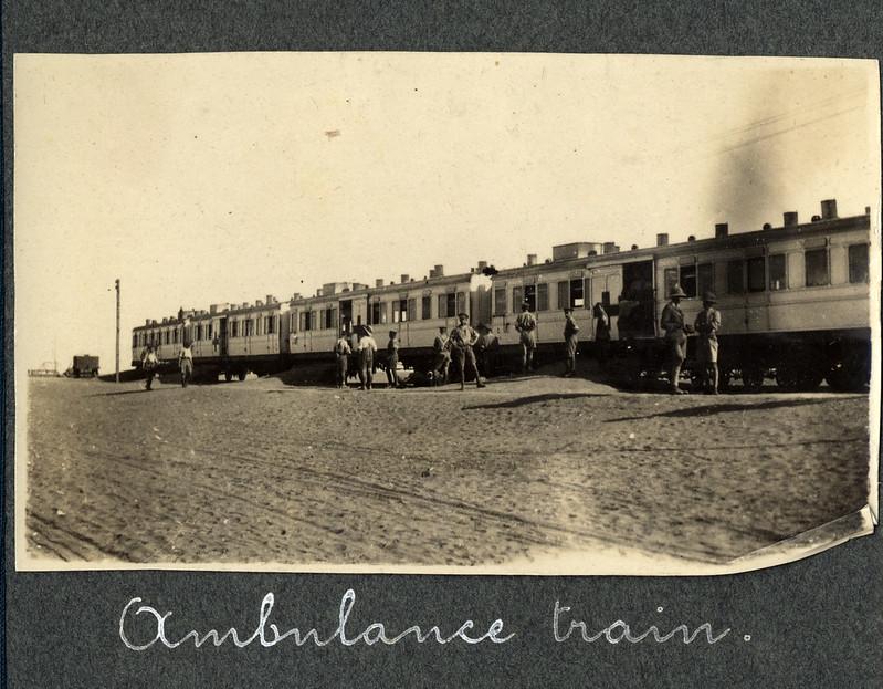 An Ambulance train