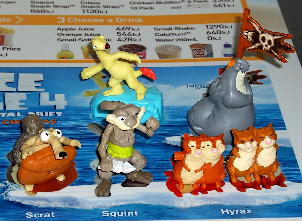 Ice Age 4 Continental Drift Mcdonald S Happy Meal Toy Australia July 2012 A Photo On Flickriver
