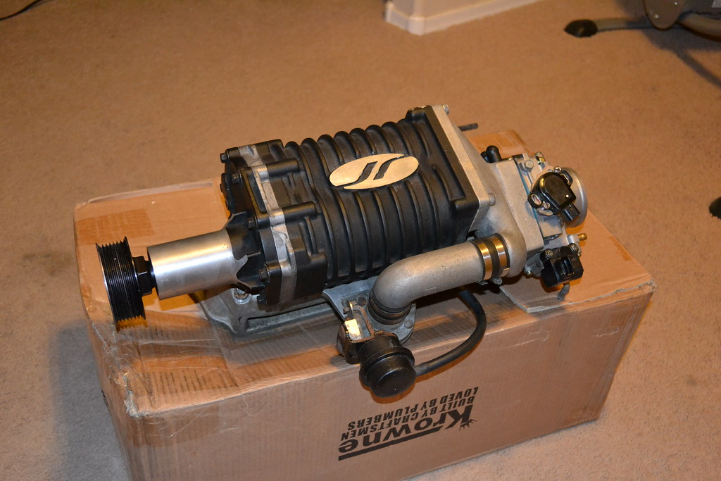 Jackson Racing SuperCharger K20 | 9psi pulley as I was told