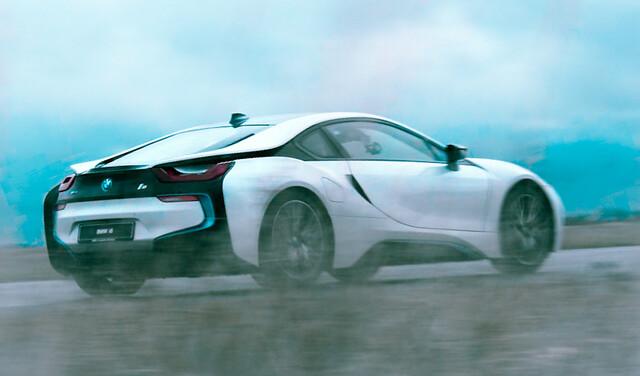 BMW I8 test
