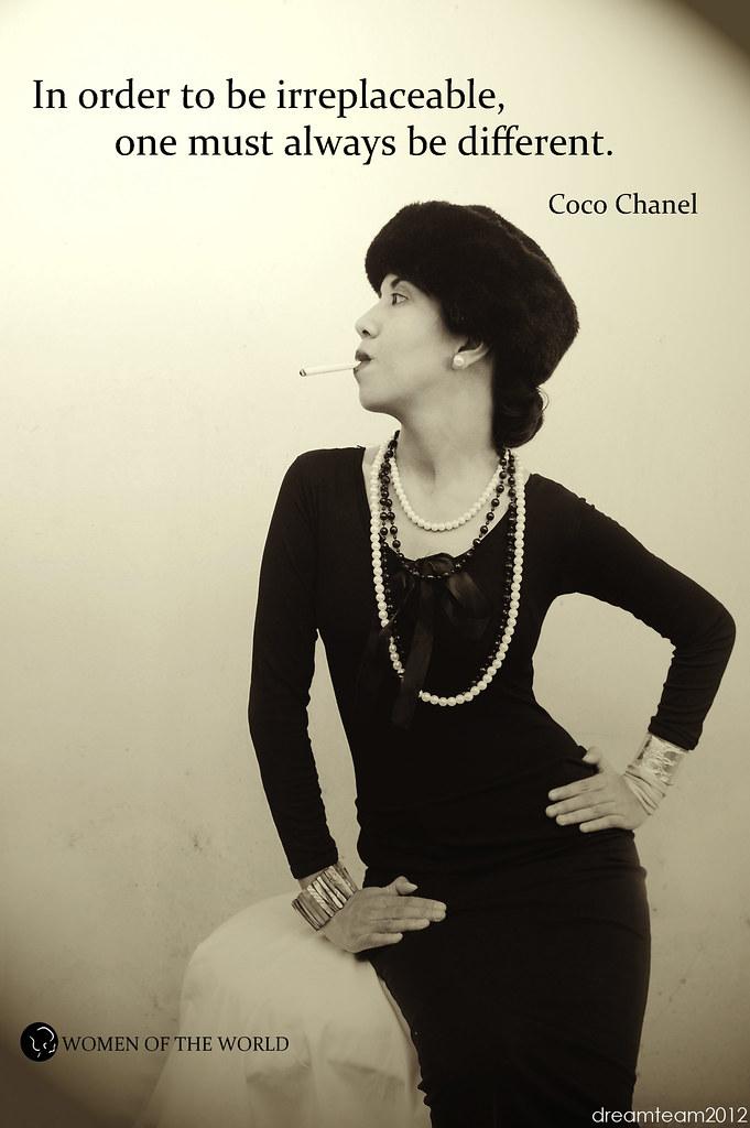 Coco Chanel Photographer Earle Hatsumy Hair Make Up Li