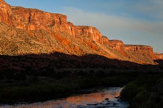 Dolores River Cliffs   by IntrepidXJ
