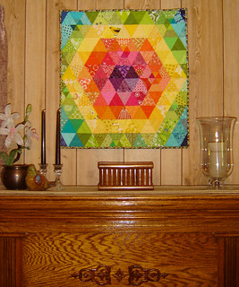 Patchwork Prism on Display