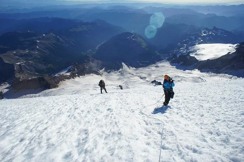 Climbing the Emmons Glacier Route | by Mount Rainier NPS