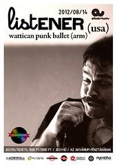 2012. június 28. 12:56 - A Soundkitchen és az Akvárium bemutatja: Listener (USA)