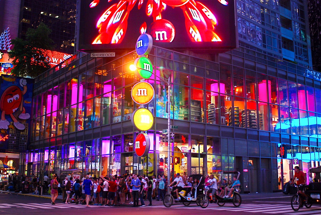 M and M Store New York City