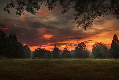 sunset fog night newjersey nj hdr edison canonefs1022mmf3545usm oakridgepark