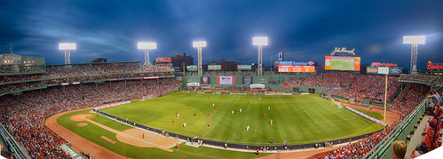 Football at Fenway (HDR) | by Eric Kilby