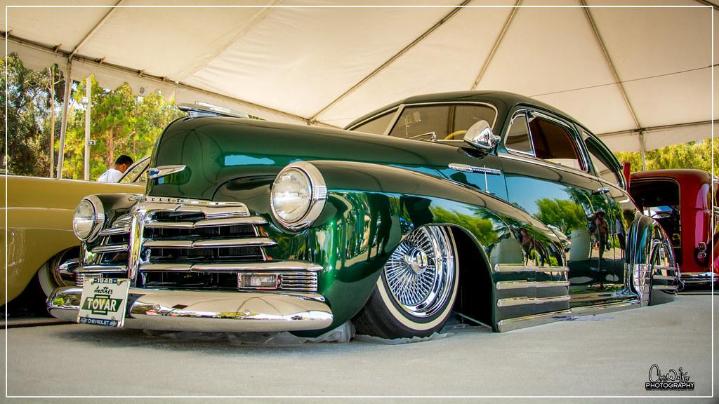 1948 Chevrolet Fleetline - Bombs Magazine LA Classic Car Show 2016 - Explored