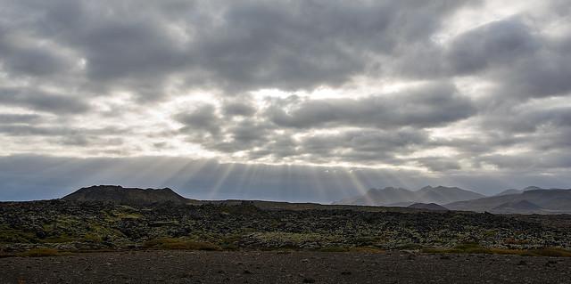 Sunrays at Snæfellsnes