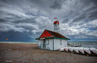 Leuty Lifeguard station after a storm - Kew Beach | by Phil Marion (173 million views - THANKS)