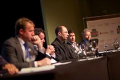 Wilmar Hendriks (CCCE) bij het Nationaal Privacy Debat
