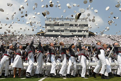 West Point Hat Toss | by The U.S. Army